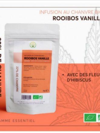Infusion au chanvre ROOIBOS à la vanille BIO